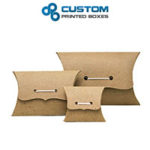 pillow boxes wholesale, wholesale pillow packaging