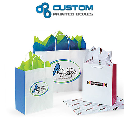 Custom Paper Bags | Custom Paper Bags Wholesale | Bags No Minimum